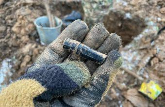 В Тверской области поисковики нашли солдатский медальон и нож