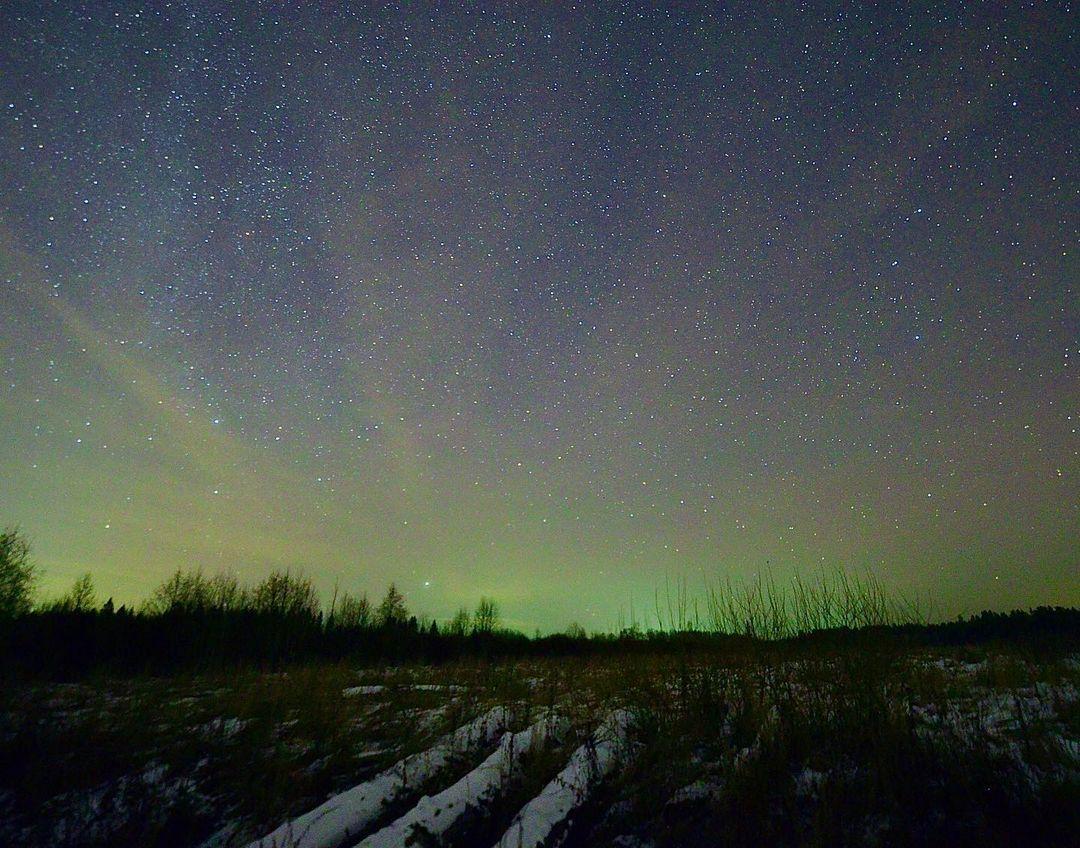 В Тверской области удалось сфотографировать северное сияние