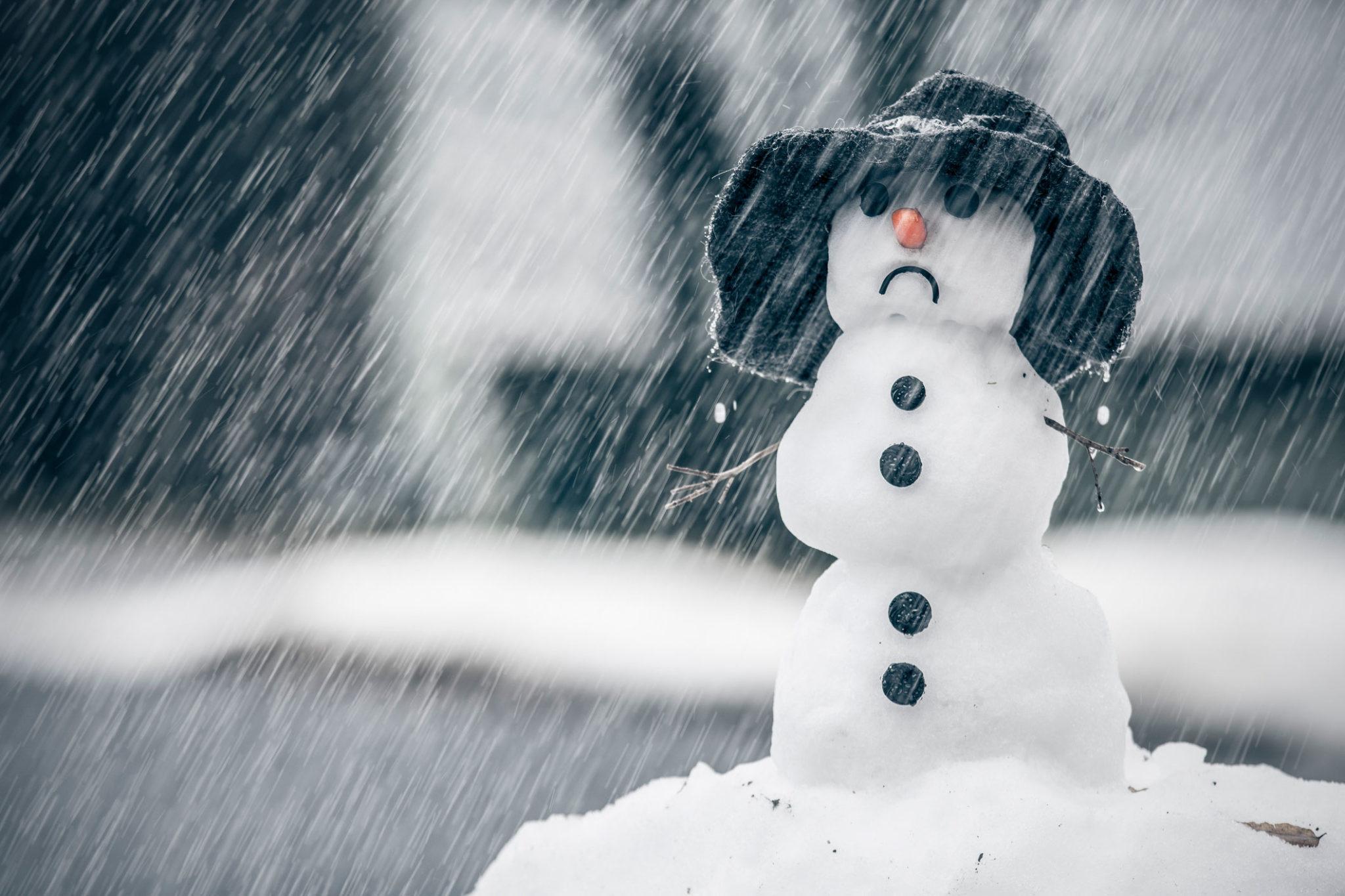 Тверскую область зальёт декабрьским дождём: прогноз на выходные
