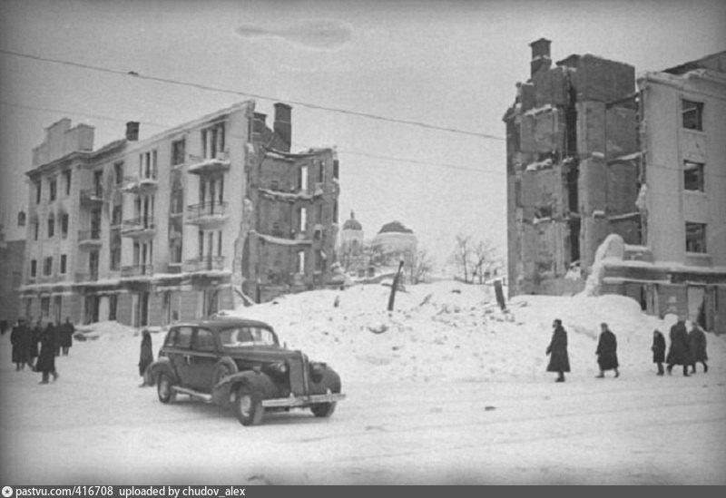 Калинин в декабре: фотоистория оккупации и освобождения города
