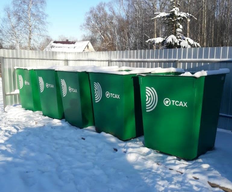 11 тысяч новых мусорных контейнеров появилось в Тверской области