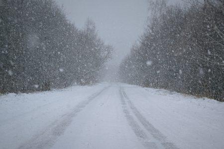 Тверских водителей предупреждают о снегопаде и гололедице