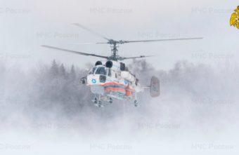 Мужчину в тяжелом состоянии экстренно транспортировали на вертолёте в Тверь