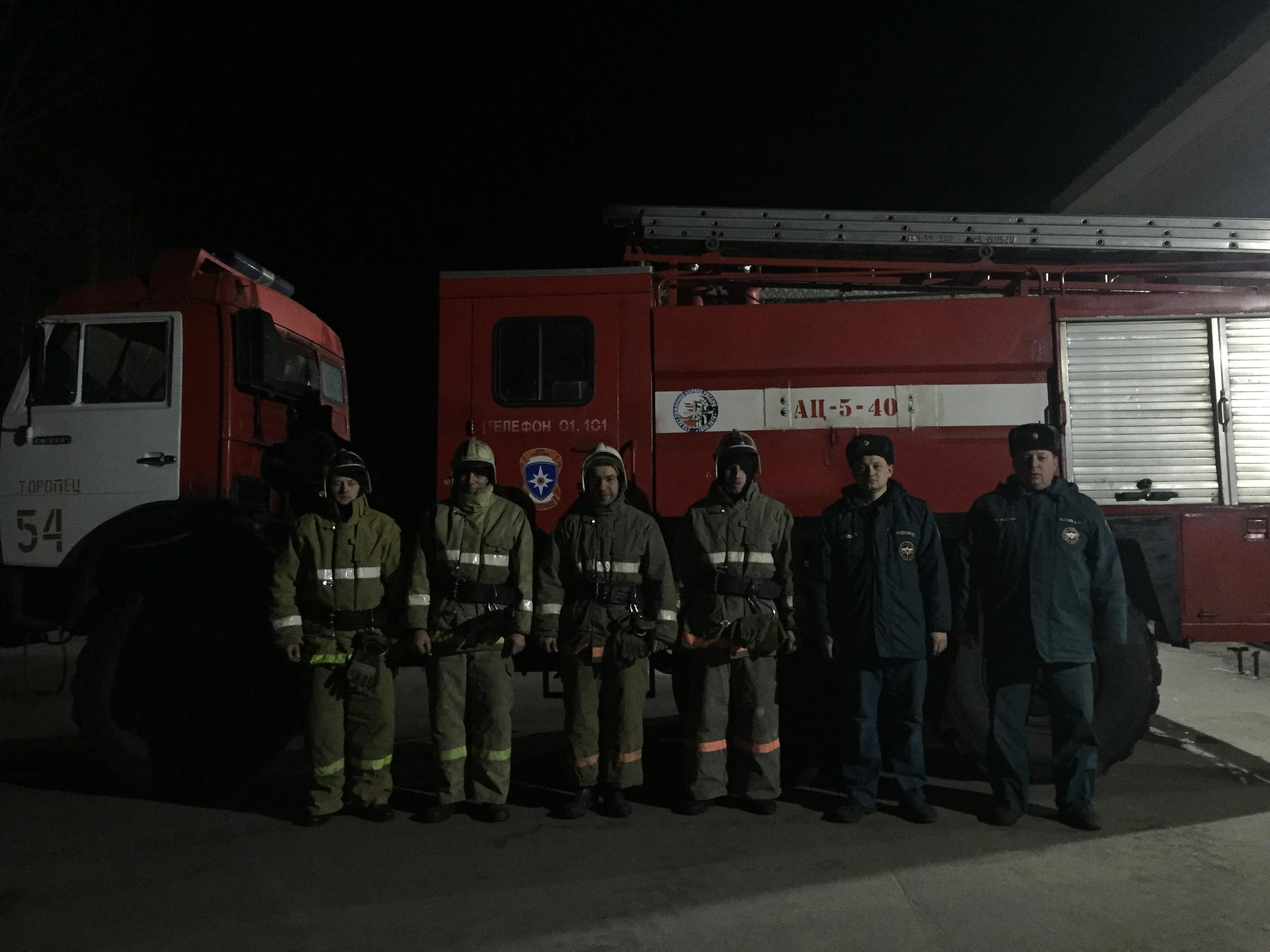 Из горящего дома в Тверской области спасли мужчину