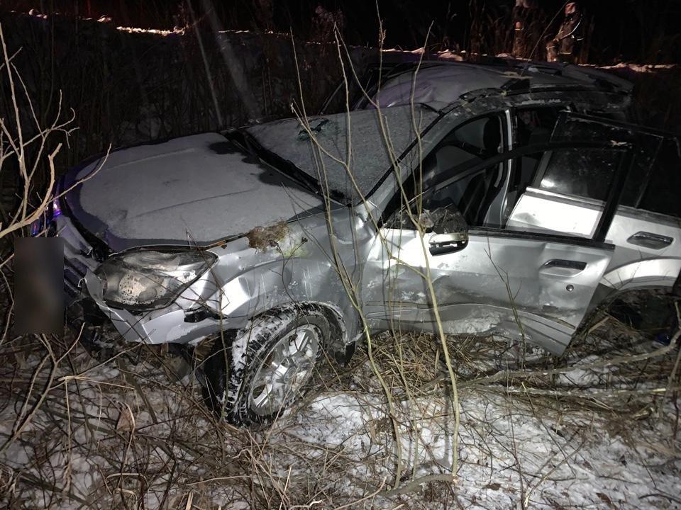 Пожилой мужчина погиб в автомобиле, улетевшем в кювет в Тверской области