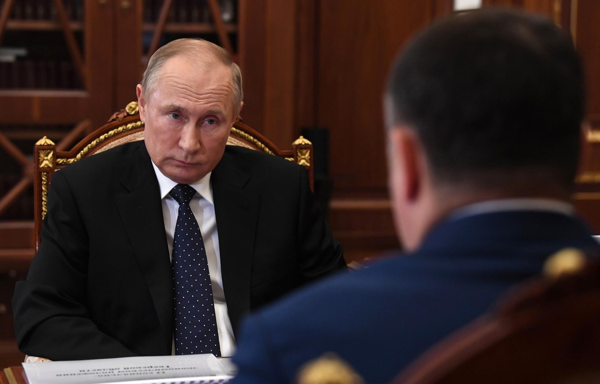 Губернатор Игорь Руденя рассказал Владимиру Путину о пандемии в Тверской области
