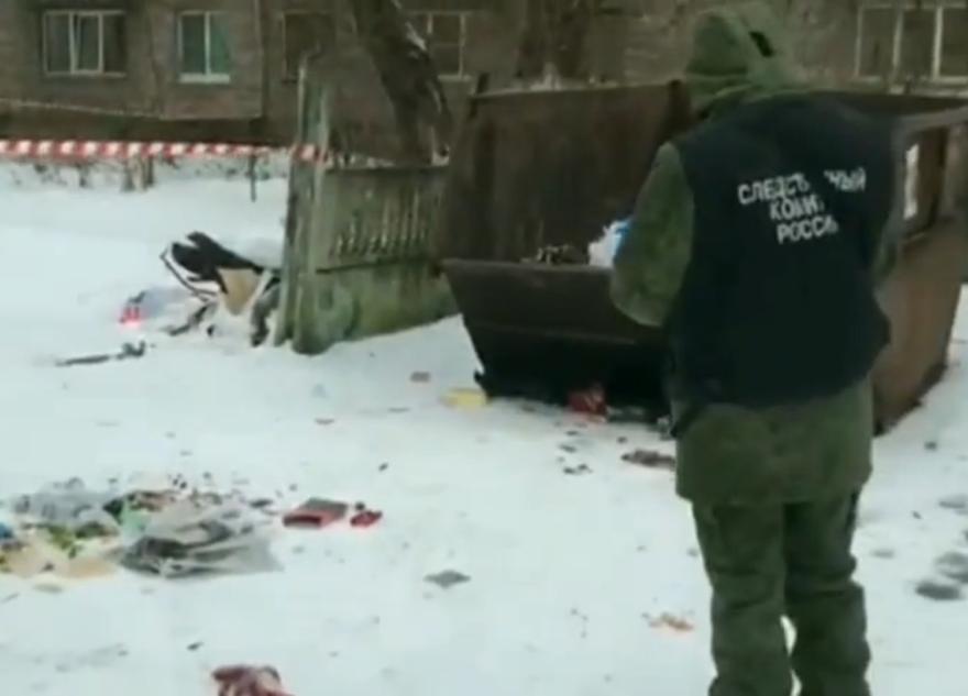 Труп убитой женщины нашли в мусорном контейнере в Тверской области