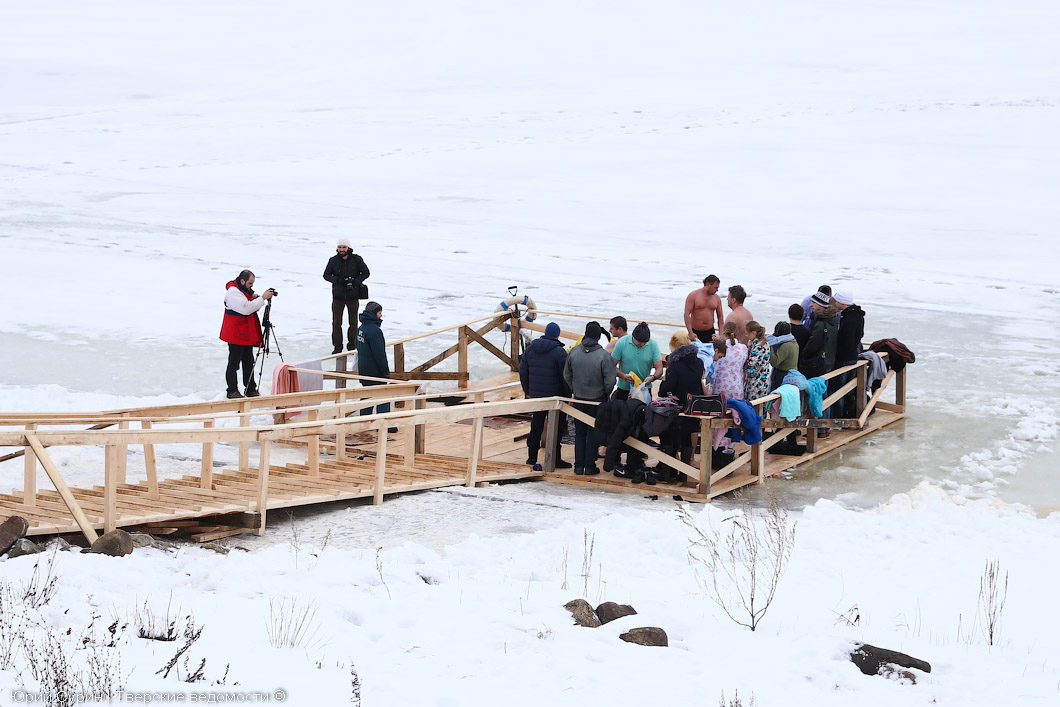 Кругом вода: места проведения Крещенских купаний в Тверской области