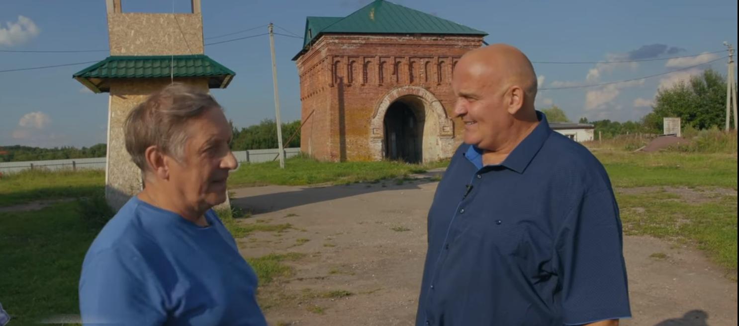 Известные актеры побывали в старинных храмах и монастырях Тверской области