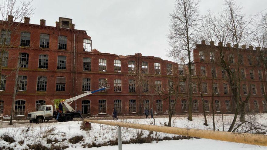 Нашли виноватого в обрушении вышневолоцкой фабрики в Тверской области
