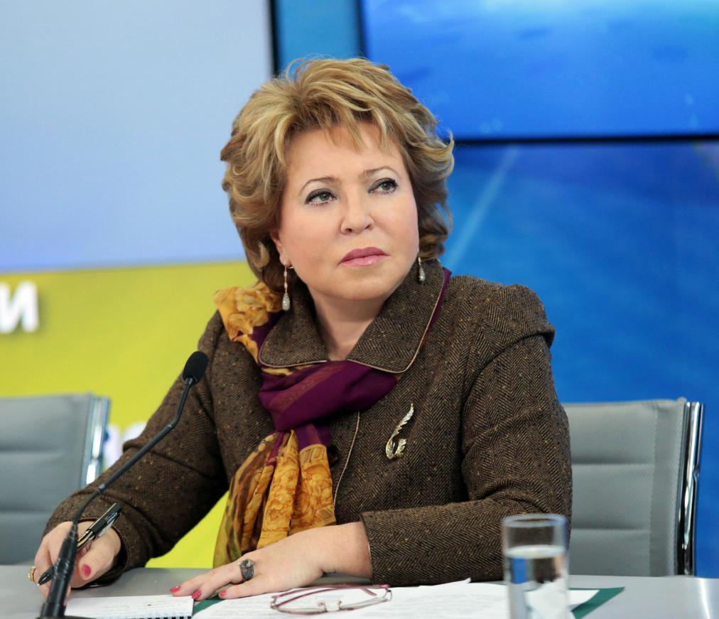 Валентина Матвиенко поздравила жителей региона c Днем образования Тверской области