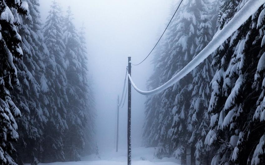 Снегопад оставил без света несколько районов Тверской области