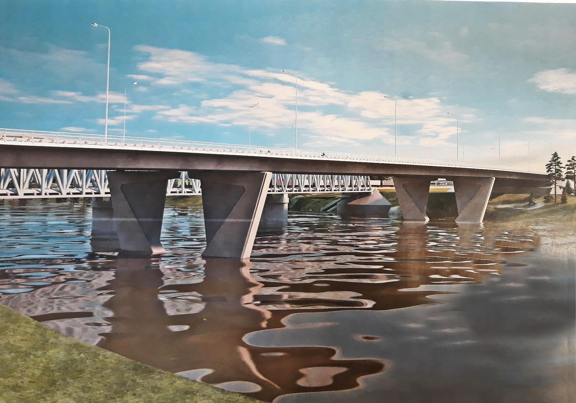 Строительство Западного моста в Твери начнется в этом году