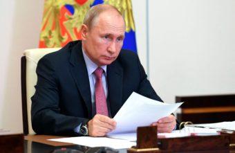 Владимир Путин отметил настойчивость Игоря Рудени в вопросе строительства Западного моста в Твери