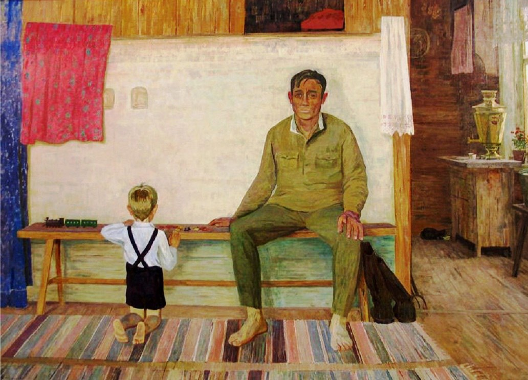 9 января ушёл из жизни известный тверской художник Валентин Сидоров