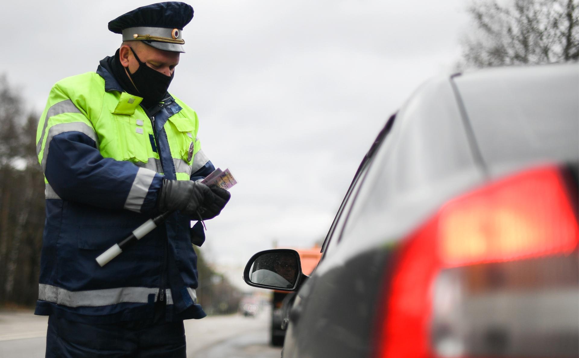 Тверских водителей будут лишать прав за рамки-обманки