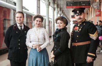 Жители Твери могут пройтись по историческому вокзалу в окружении коронованных особ