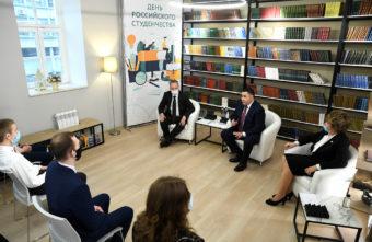 Игорь Руденя рассказал студентам о создании центра для молодых ученых