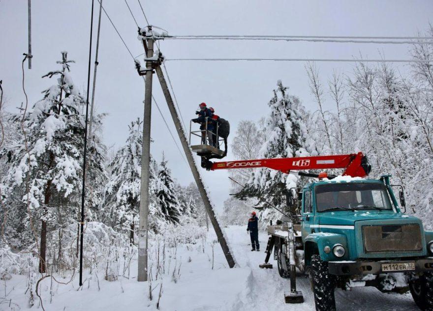 В Тверской области вернули свет в пострадавшие населённые пункты