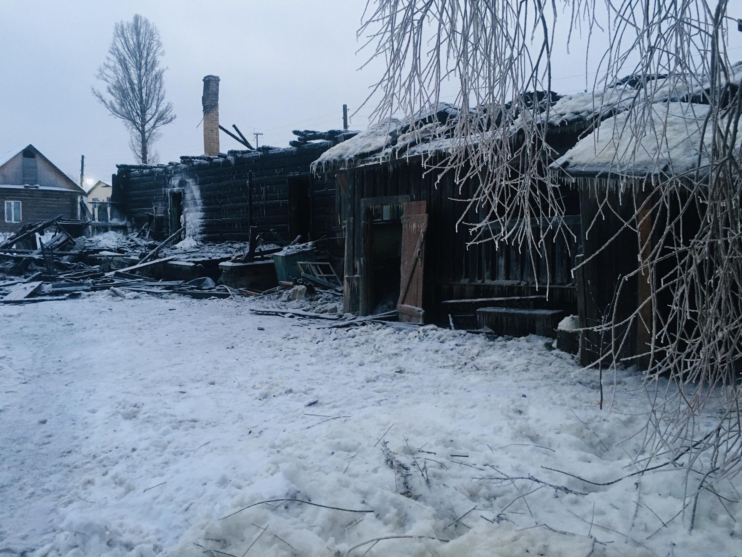 В Тверской области мужчина погиб на пожаре