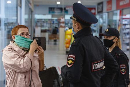 Больше 300 человек нарушили масочный режим в районе Тверской области
