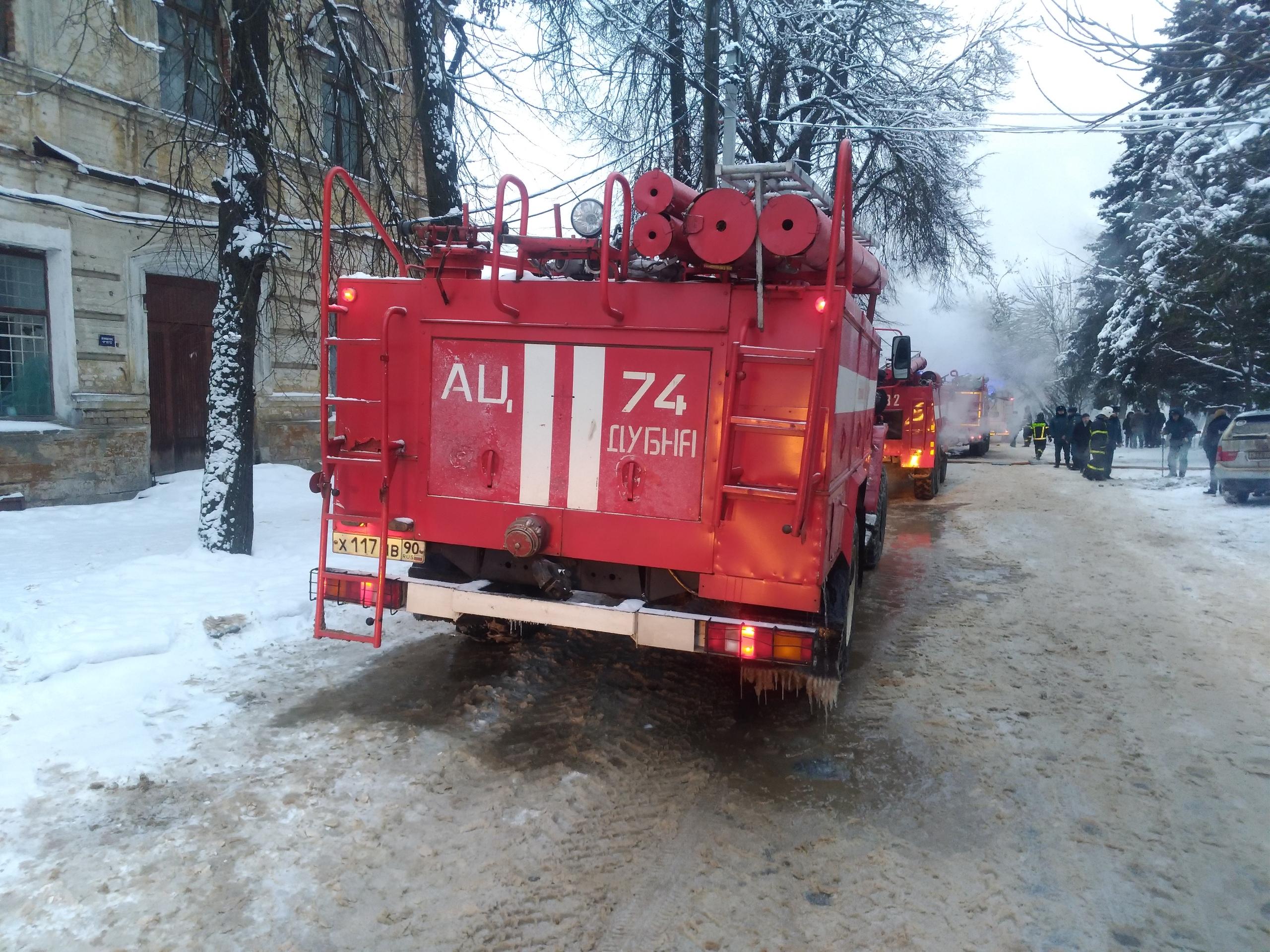 В Тверской области сгорел магазин «Климат Контроль»