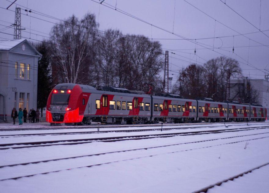 Шесть утренних электричек на участке Тверь – Москва стали быстрее