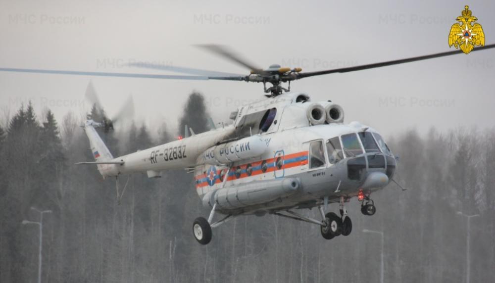 """Вертолёт санавиации экстренно доставил в Тверь """"тяжёлого"""" пациента из района"""