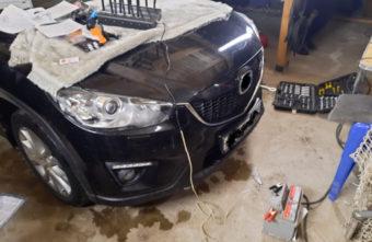 Украденную иномарку нашли в гараже под Тверью вместе с тремя угонщиками
