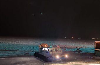 В Тверской области людей эвакуировали с острова после пожара