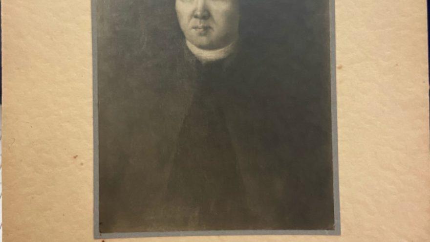 Найдено уникальное дореволюционное фото портрета создателя Вышневолоцкой водной системы