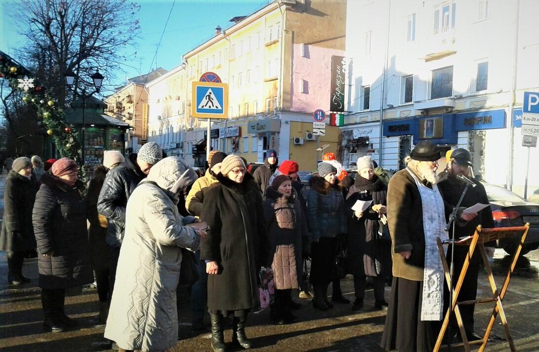 1 января в центре Твери отслужат молебен от пьянства