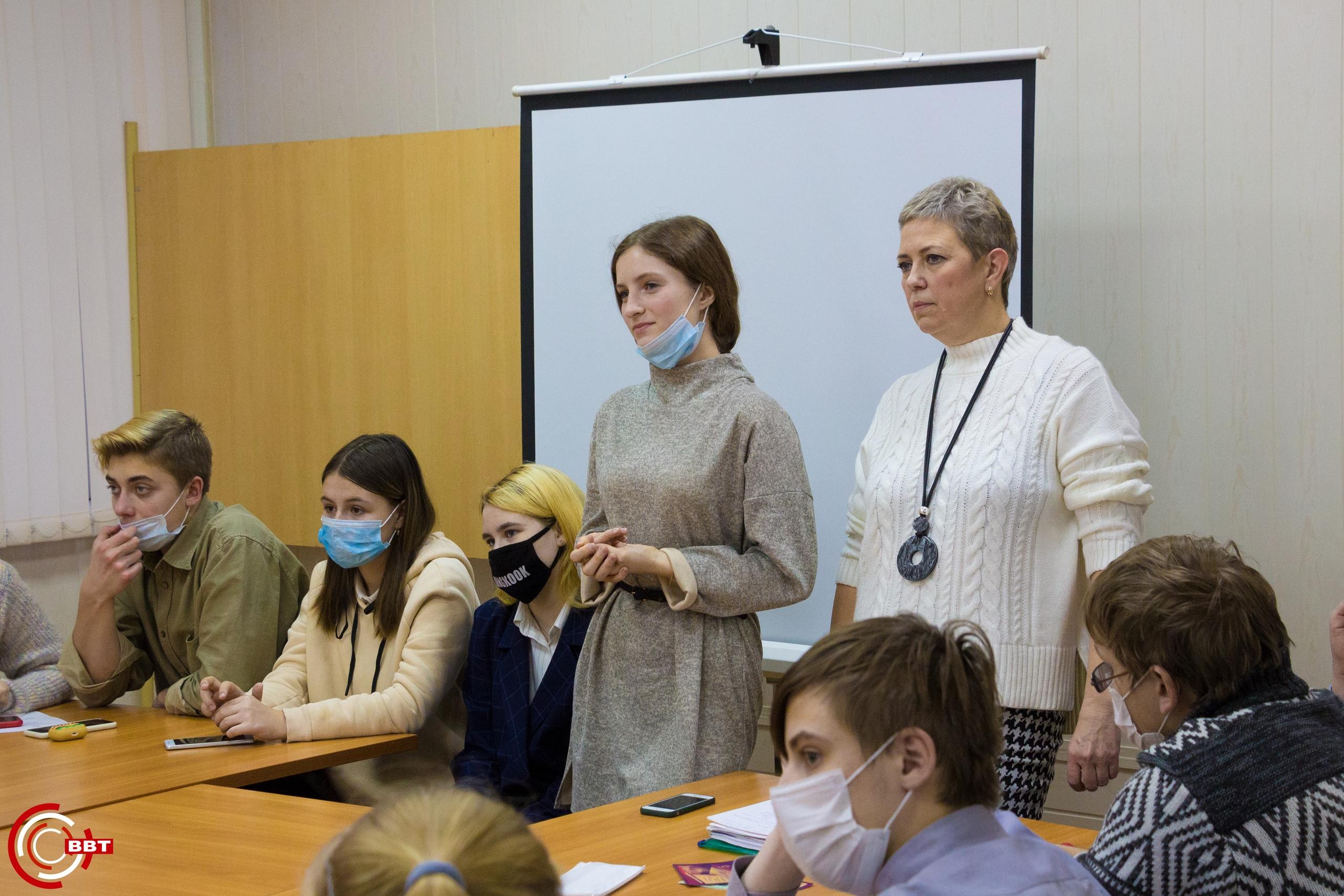 Вышневолоцкая молодежь встретилась с ровесниками-журналистами