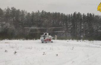 Медики доставили тяжелобольного пациента в Тверь на вертолёте