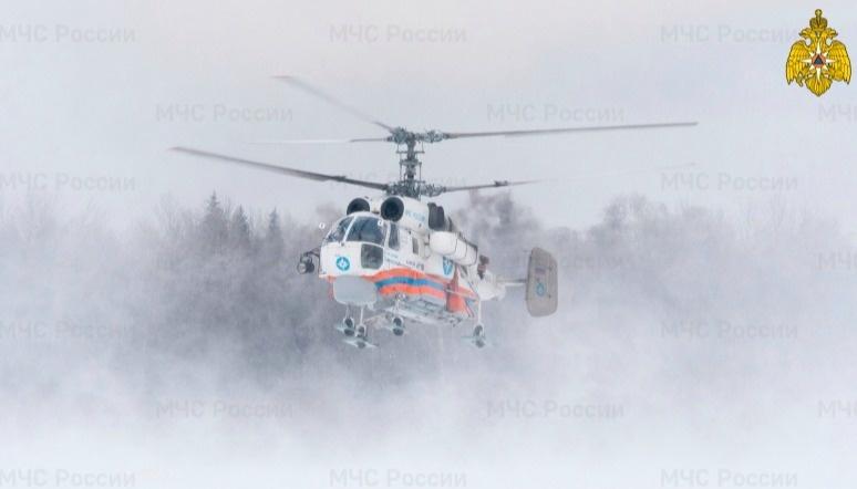 Ночью жителя Тверской области эвакуировали вертолётом санавиации
