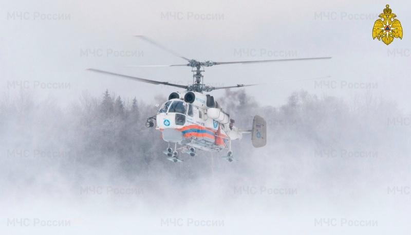 Пациента в тяжёлом состоянии доставили на вертолёте в Тверь