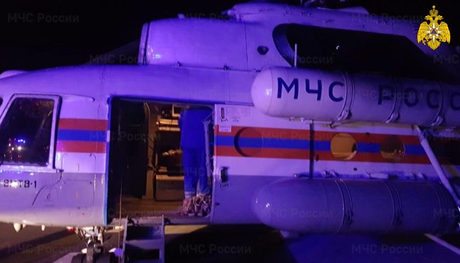 Двух больных в тяжёлом состоянии доставили по воздуху в Тверь