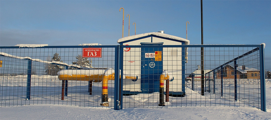Под Тверью закончили строительство газопроводов до двух деревень