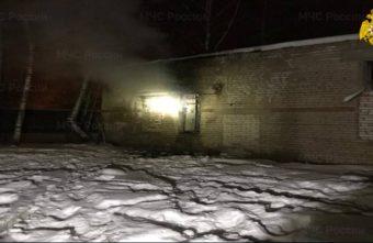 Человек пострадал при пожаре в жилом доме под Тверью
