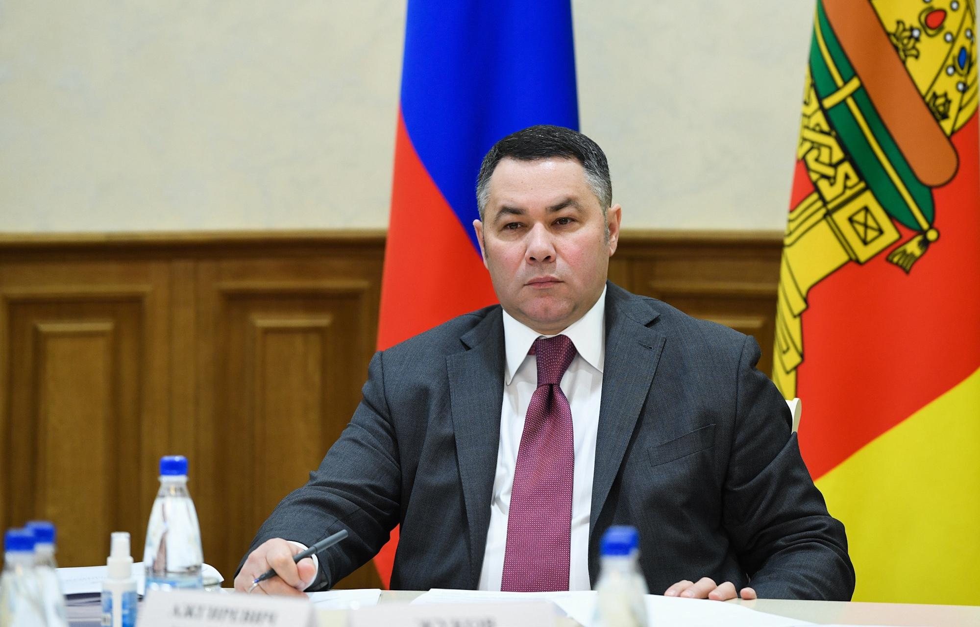 Губернатор Игорь Руденя посетит с рабочим визитом Торжок и Вышневолоцкий городской округ