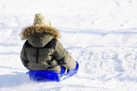 В Тверской области дети катаются с очень опасных горок