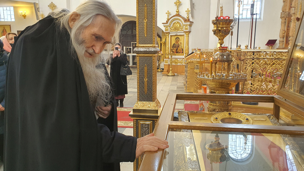 В Тверь приехал легендарный старец Илия, духовник патриарха Кирилла