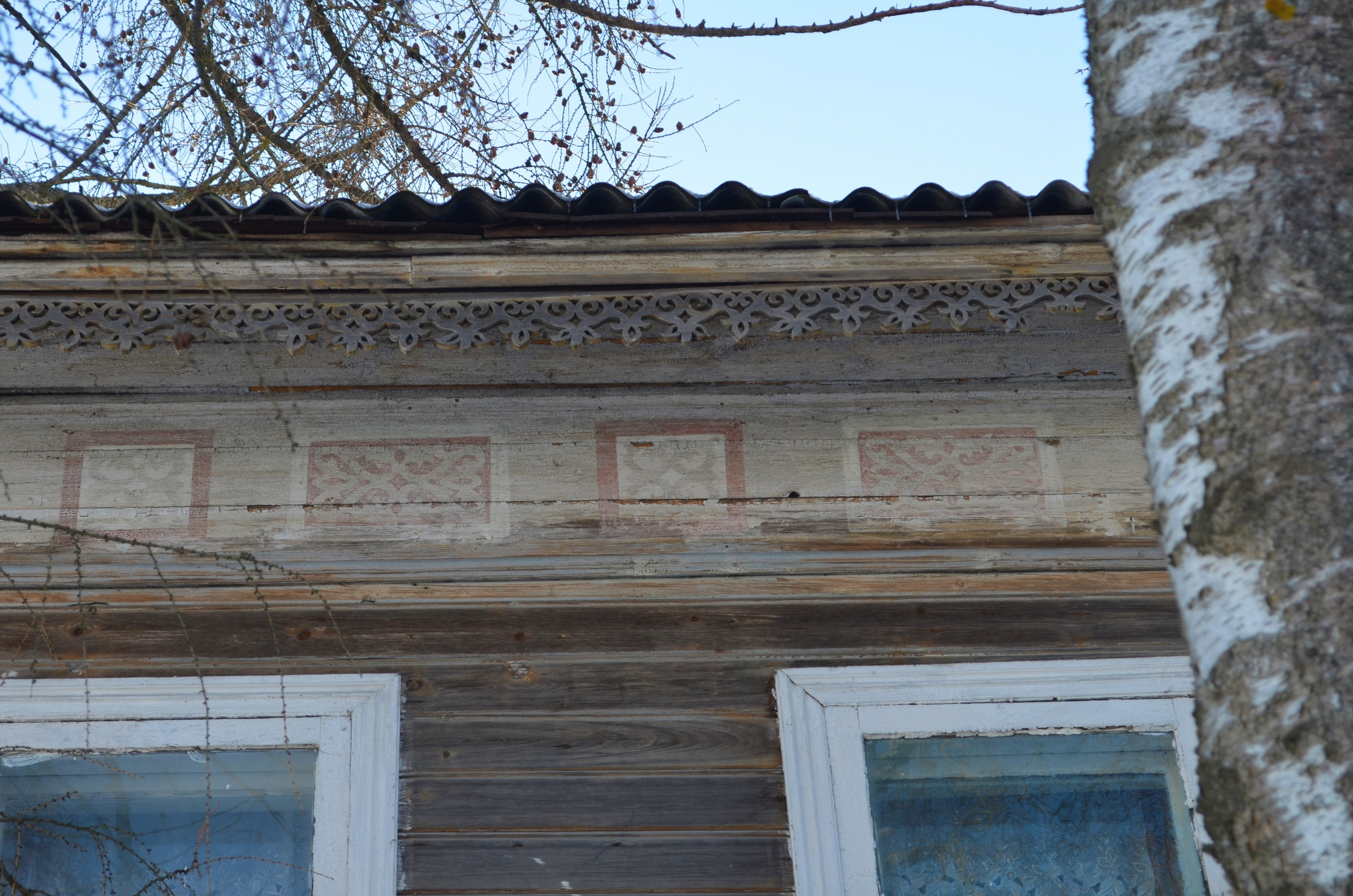 В Кимрах можно увидеть уникальные исторические росписи на домах