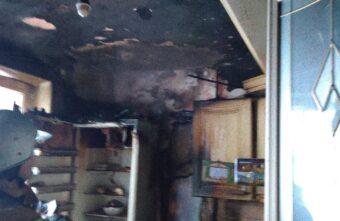 В Тверской области из-за замыкания загорелась кухня