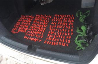 В Тверской области из машины достали 275 свертков с героином