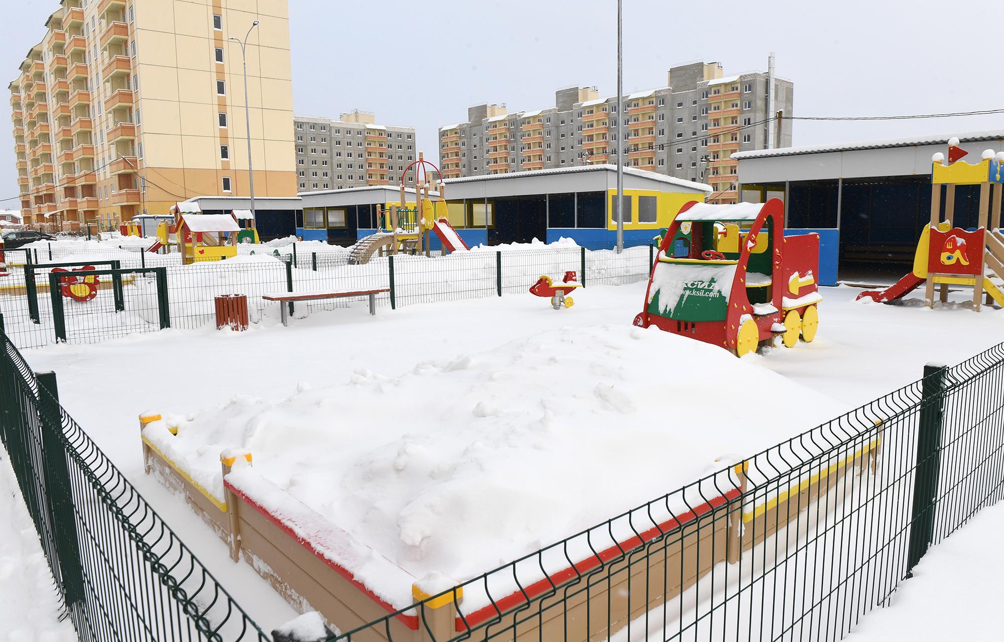 Седьмой детский сад открыли в Тверской области за два года