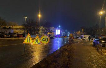 Проспект Победы в Твери решили не открывать до праздника