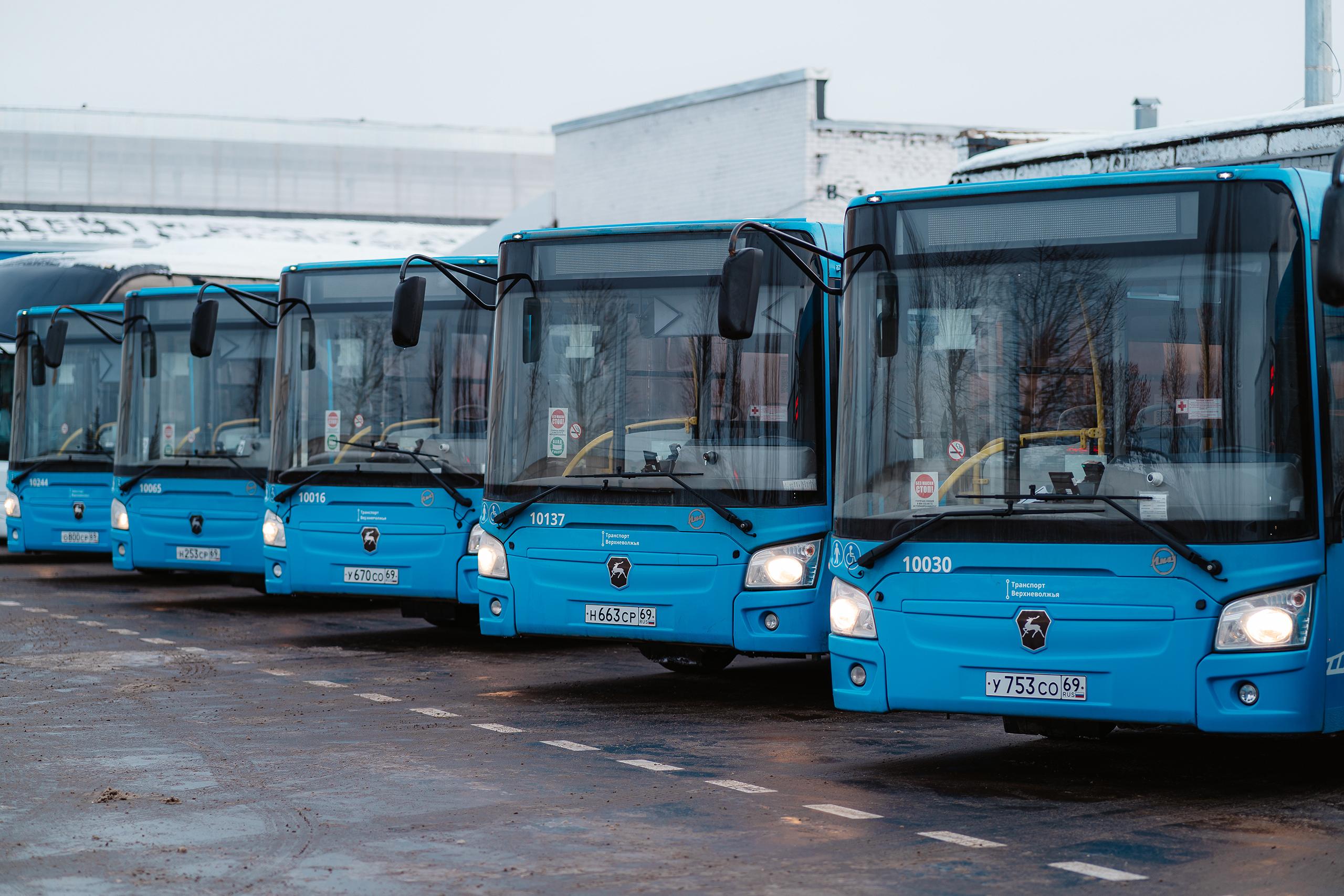 Пятилетка губернатора Игоря Рудени: тверские автобусы - удобные и понятные