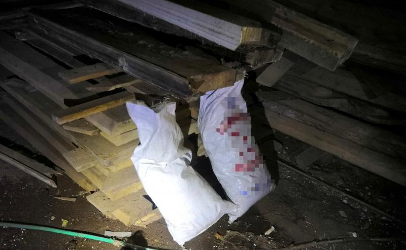 Житель Тверской области хранил коноплю в тазах и мешках