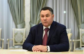 Игорь Руденя обсудил газификацию Лихославльского района с главой муниципалитета